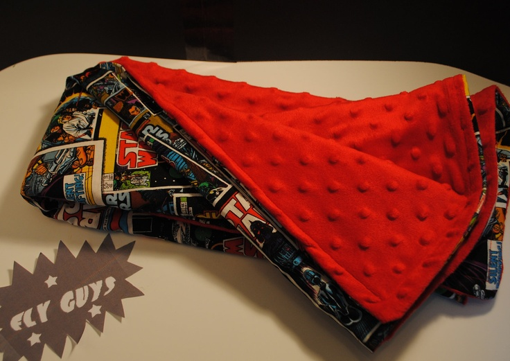 Next sewing project :) Every kid needs a star wars blanket...right?