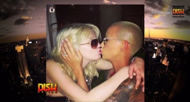 "Watch: Amber Rose Says She Will Never Lock Lips WIth Nick Minaj #DishNation- http://getmybuzzup.com/wp-content/uploads/2014/07/amber-rose-courtney-love.jpg- http://getmybuzzup.com/watch-amber-rose-says-will-never-lock-lips-nick-minaj-dishnation/-  Amber Rose talks exclusively with ""Dish Nation"" about being the one to initiate the kiss between her and Courtney Love. And as for what Wiz Khalifa feels about the whole ordeal, she says that the hip hop artist was nowhe"