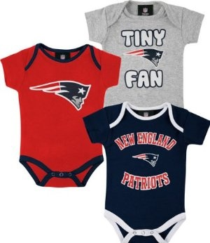 Tom Brady or New England Patriots Toddlers outfits for Halloween