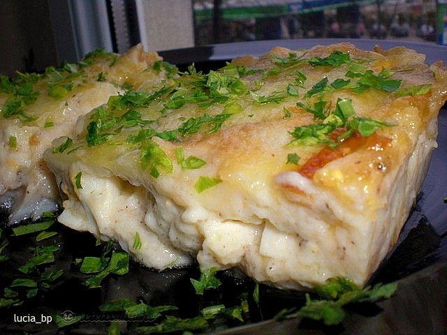 Peste in sos de oua la cuptor