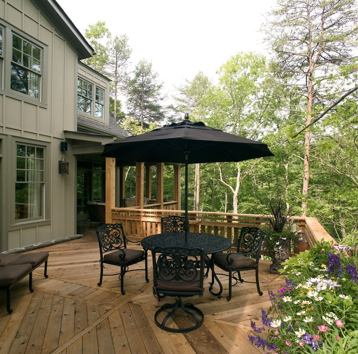 A Home Isnu0027t Complete Without A Relaxing Deck To Enjoy. See How Much