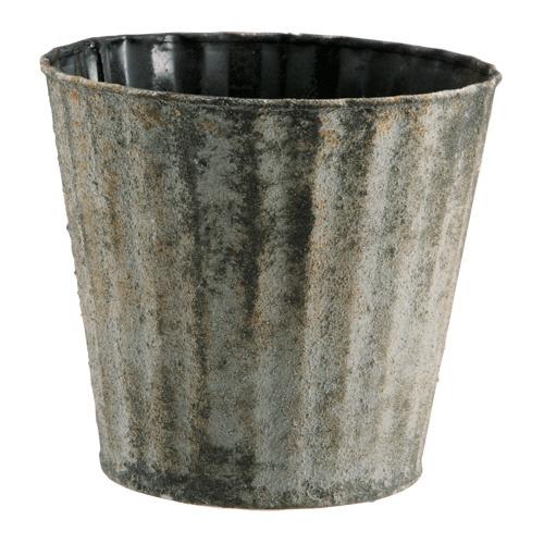 Zinc Pot-Close Up