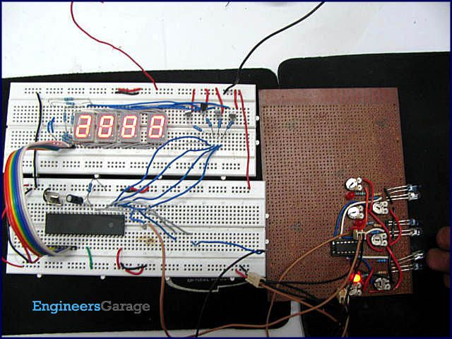 automatic bidirectional visitor counter using 8051 microcontroller rh pinterest com