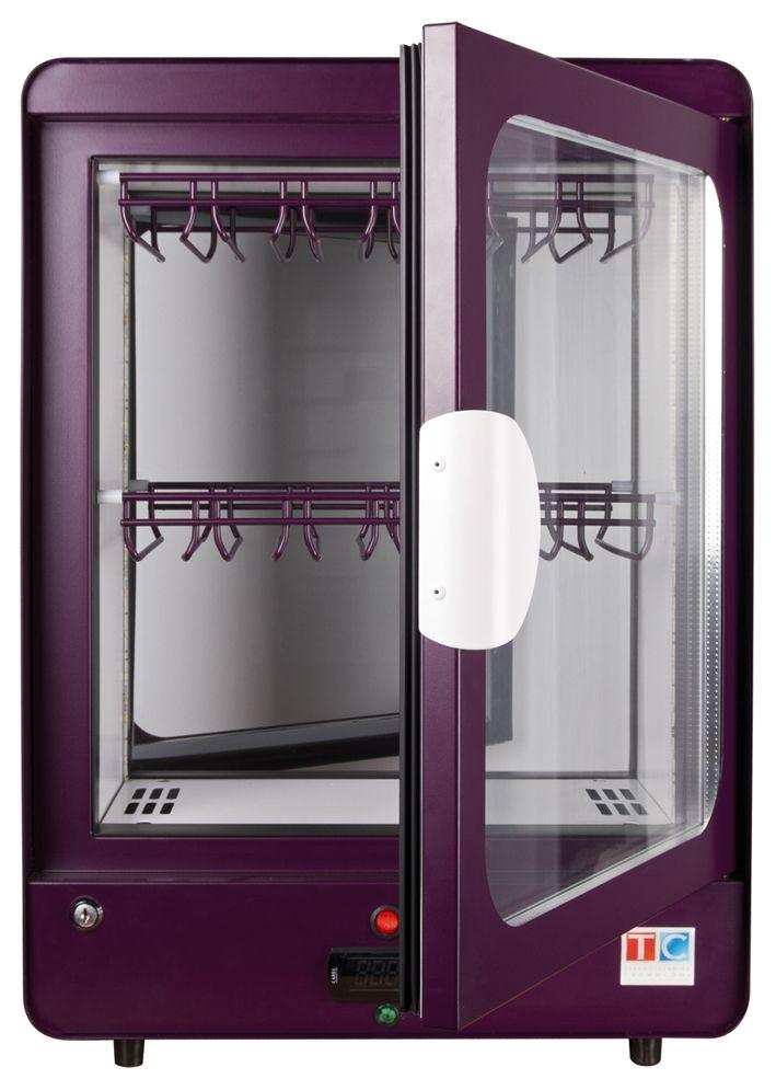 NH-55 Heated display with purple external cover #heat #display #purple
