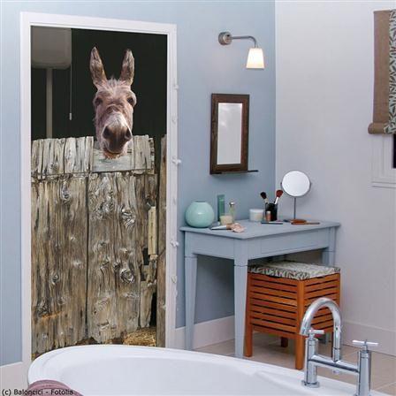 ACHICA | Donkey Stable Door Sticker