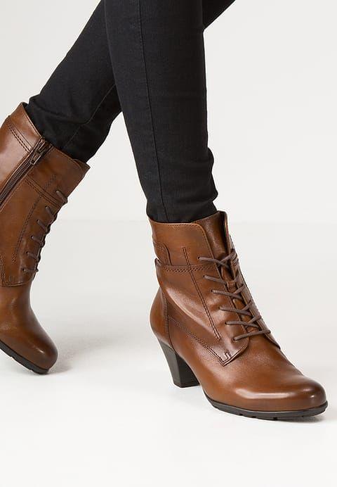 Chaussures Gabor Bottines à lacets - sattel  beige: 110,00 € chez Zalando (au 20/07/17). Livraison et retours gratuits et service client gratuit au 0800 915 207.