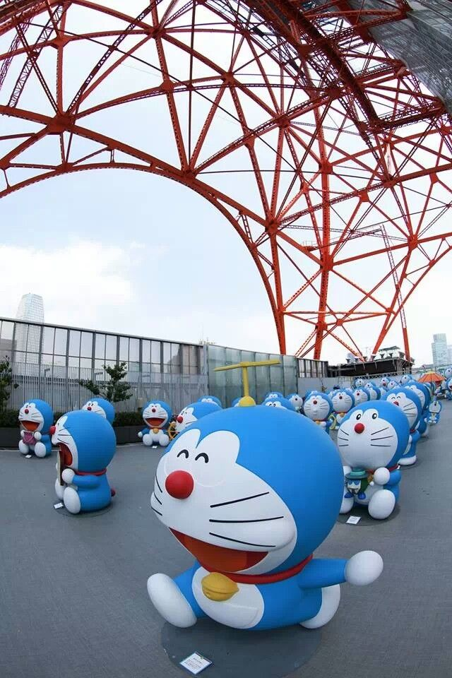 Just your standard Doraemon Invasion.