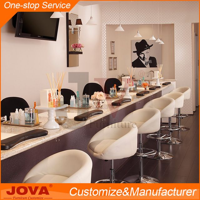 Source Guangdong JOVA furniture beauty nail salon equipment furniture manicure table station nail table on m.alibaba.com