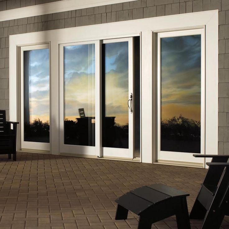 Integrity IZ3 IMPACT Sliding French Door. These products are built to withstand harsh hurricane winds and salt air making your investment go further.