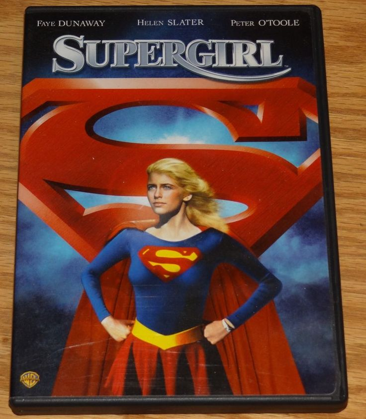 Supergirl (DVD, 2006) Faye Dunaway/Peter O'Toole Spin-Off! Unrated Edition