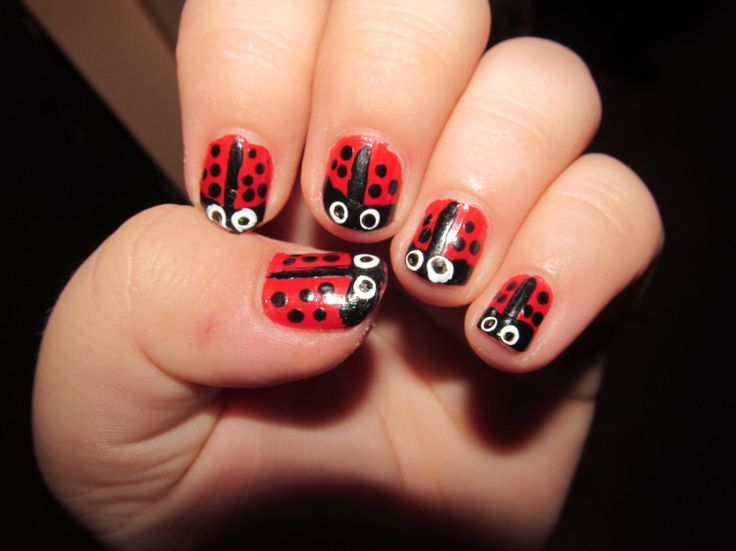 Red Animal Nail Art - pictures, photos, images - 29 Best Animal Nail Arts Images On Pinterest Animal Nail Art