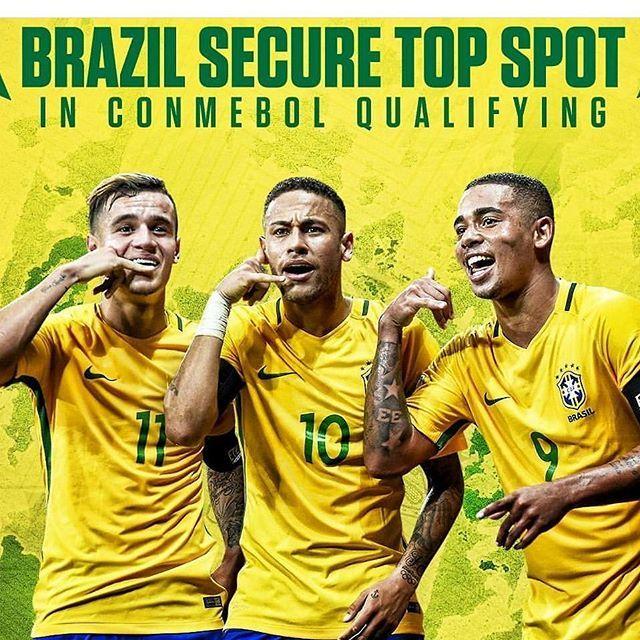 """Brazil On The Top.  With a Clear Win 🙏🙏👏👏 @neymarjr  #football #ball #pass #footballgame #footballseason #footballgames #footballplayer #instagood #pass #jersey #stadium #field #yards #photooftheday #yardline #pads #touchdown #TFLers #catch #quarterback #fit #grass #nfl #superbowl #kickoff #run"" by @leofootballhd. #ganpatibappamorya #dilsedesi #aboutlastnight #whatiwore #ganpati #ganeshutsav #ganpatibappa #indianfestival #celebrations #happiness #festivalfashion #festivalstyle #lookbook…"