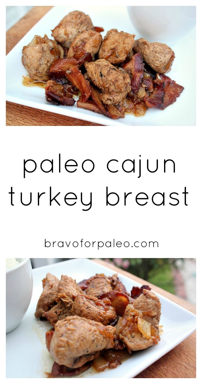 This Paleo Cajun Turkey Breast is so delicious and easy to make!