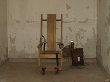 In 1889, New York's Electrical Execution Law, the first of its kind in the world, went into effect, and Edwin R. Davis, the Auburn Prison electrician, was commissioned to design an electric chair. Closely resembling the modern device. On August 6, 1890, William Kemmler became the first person to be sent to the chair.