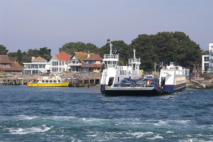 Sandbanks to Studland chain ferry simplonpc.co.uk