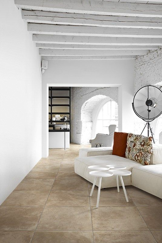 ECOLOGICAL PORCELAIN STONEWARE FLOORING MEMORY MOOD BY @CeramicaPanaria | DESIGN SILVIA STANZANI
