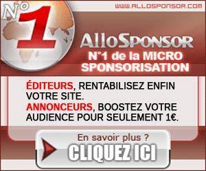 AlloSponsor : régie publicitaire par micro sponsorisation