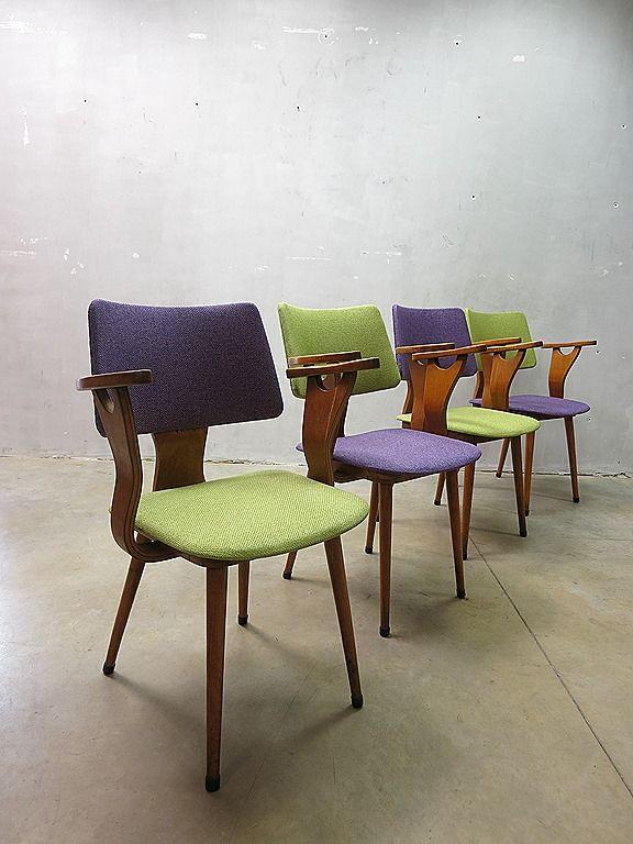 Cor Alons Mid Century Dutch Design Dinner Chairs Eetkamer Stoelen Vintage  Www,bestwelhip.nl