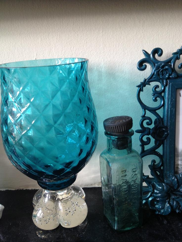 Vase and bottle