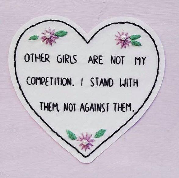 Pelo fim da competitividade/rivalidade entre as mulheres