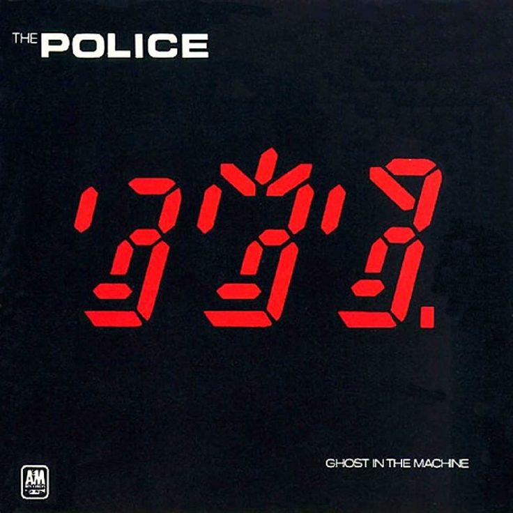 """The Police / Ghost In The Machine (1981) -- Check out the """"I ♥♥♥ the 80s!!"""" YouTube Playlist --> http://www.youtube.com/playlist?list=PLBADA73C441065BD6 #1980s #80s"""