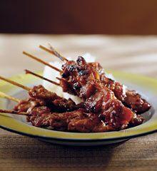 GRILLED PORK SKEWERS (MUU BING) David Thompson: Thai street food recipes | Life and style | The Observer
