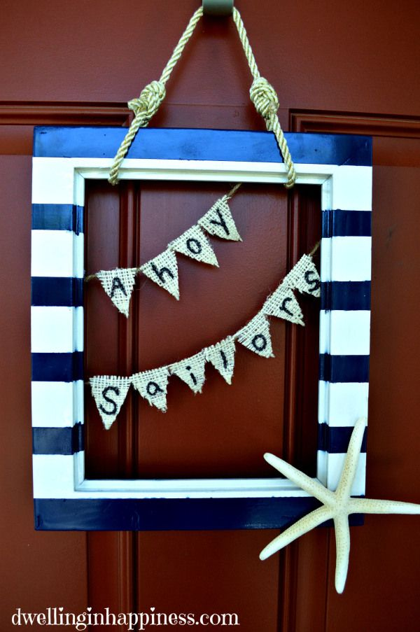 17 best ideas about nautical knots on pinterest knots for Anchor door decoration