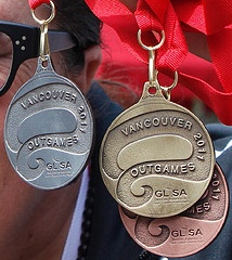 Medals for North American Outgames 2011