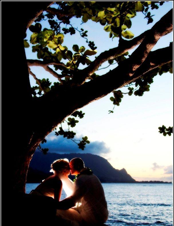 Hanalei Sunset Exquisite Hawaii Kauai WeddingHawaiiWedding PlanningSunsetSunsetsHawaiian Islands
