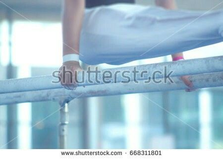 Parallel bars competition