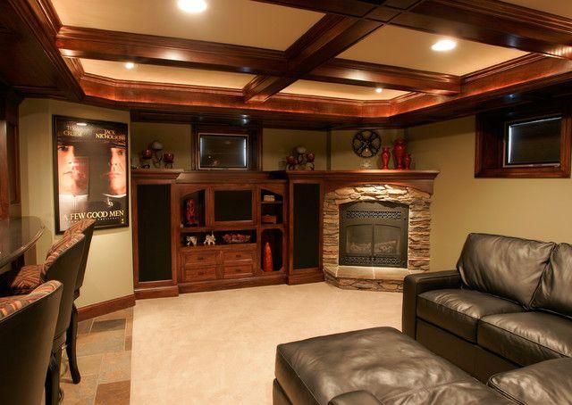 30 best basement family room images on pinterest living for Small rec room ideas
