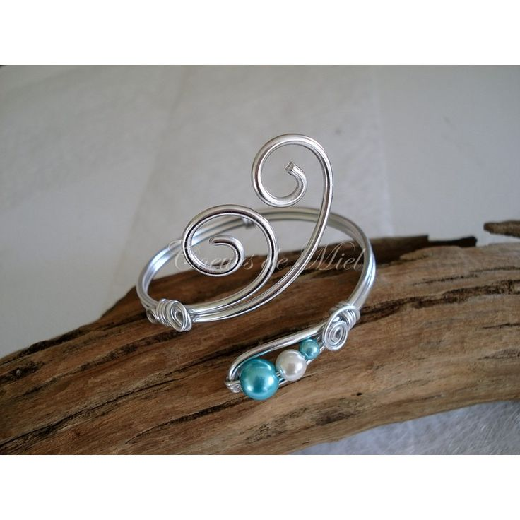 Bracelet aluminium ANNA coloris personnalisable : Bracelet par coeursdemiel