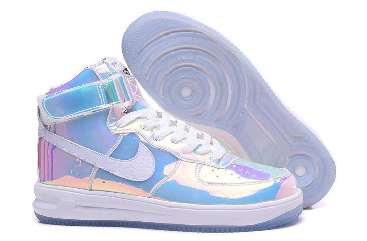 half off f3131 6a7e1 Nike Air Force 1 High Hologram Iridescent 779456-991