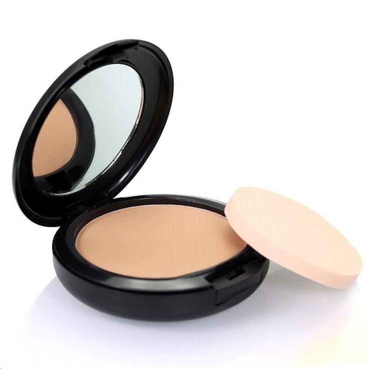 Kecantikan gadis hot profesional kecantikan wajah bedak padat kompak matte contour yayasan makeup kulit set dec.12