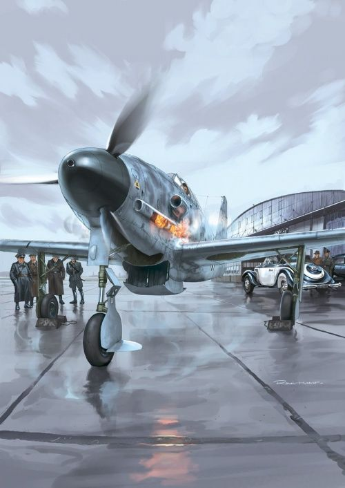 First of all - airplanes ... and Pin-Up.  Romain Hugault (130 works)