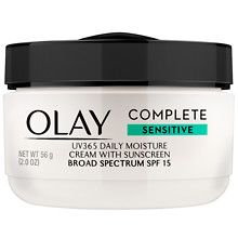 Olay Complete Cream All Day Moisturizer with SPF 15 for Sensitive Skin Fragrance-Free at Walgreens. Get free shipping at $35 and view promotions and reviews for Olay Complete Cream All Day Moisturizer with SPF 15 for Sensitive Skin Fragrance-Free