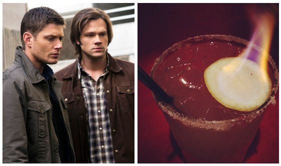 Salt and Brimstone — Supernatural   Try These Cocktails While You Watch Your Favorite CW Show