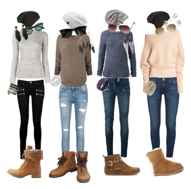 """""""Ready for Fall! 🍁🍂🌾"""" by melinda-elizabeth on Polyvore featuring Paige Denim, Current/Elliott, Balmain, Tommy Hilfiger, Phase Eight, Proenza Schouler, Converse, Ray-Ban, Jules Smith and Amanda Rose Collection"""