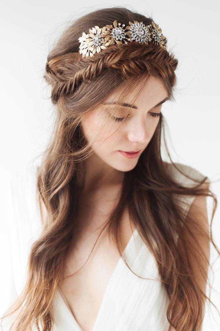 23 best goddess 16 images on pinterest | wedding hair, bridal hair