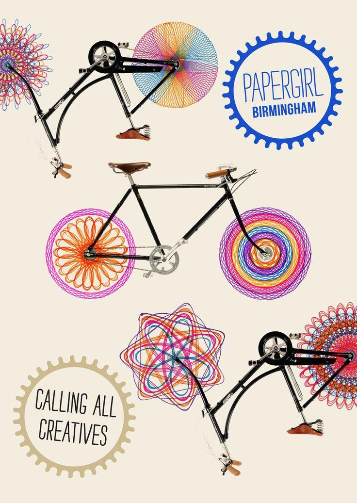 Papergirl Birmingham - Claire Hartley | Freelance Graphic Designer & Illustrator, Birmingham