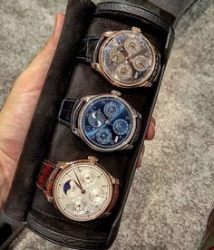 Awesome collection of IWC perpetual calendars by @brunno_paciotti by…