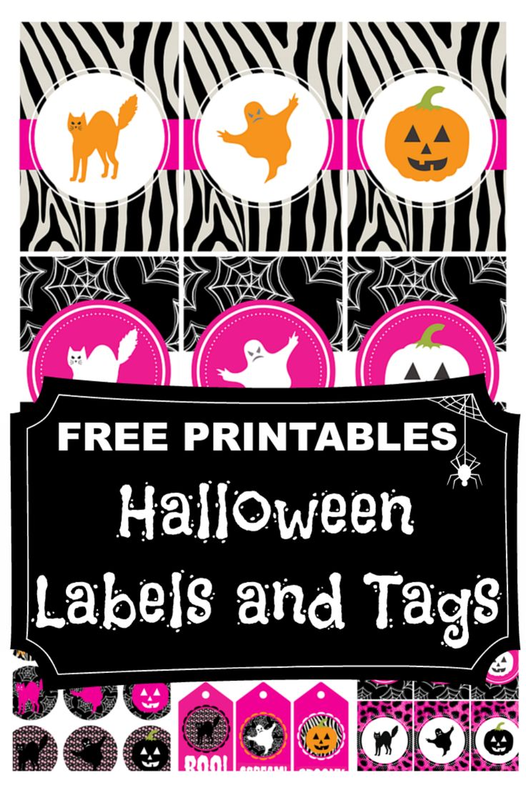 The 25+ best Printable halloween labels ideas on Pinterest ...