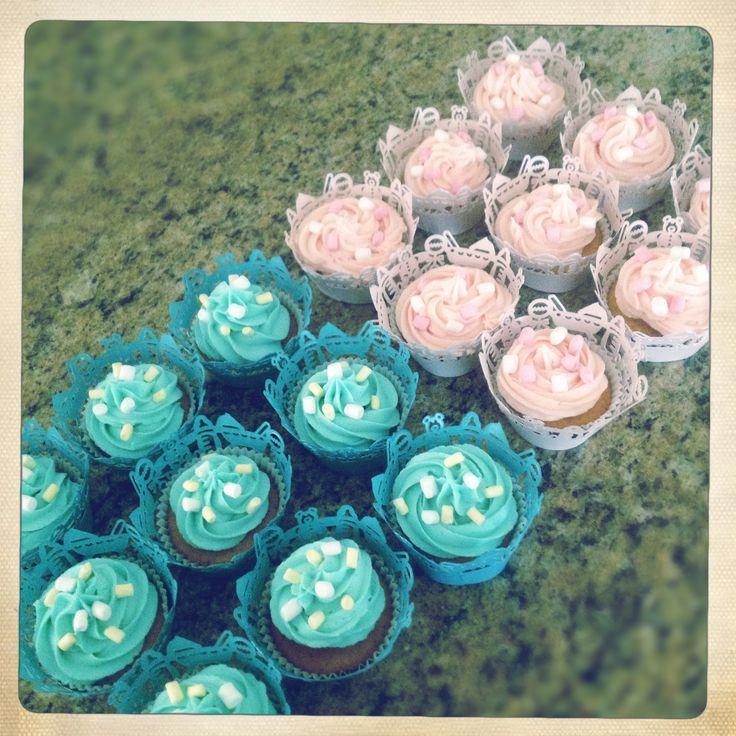 Baby Shower Cupcakes Cupcake Inspiration Pinterest