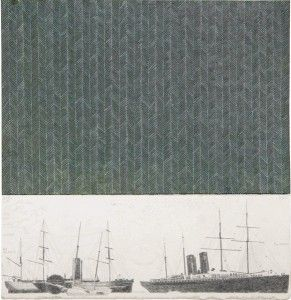 Sin título No. 15. 2013. Mixta sobre papel. 27.8 x 21.2 cm