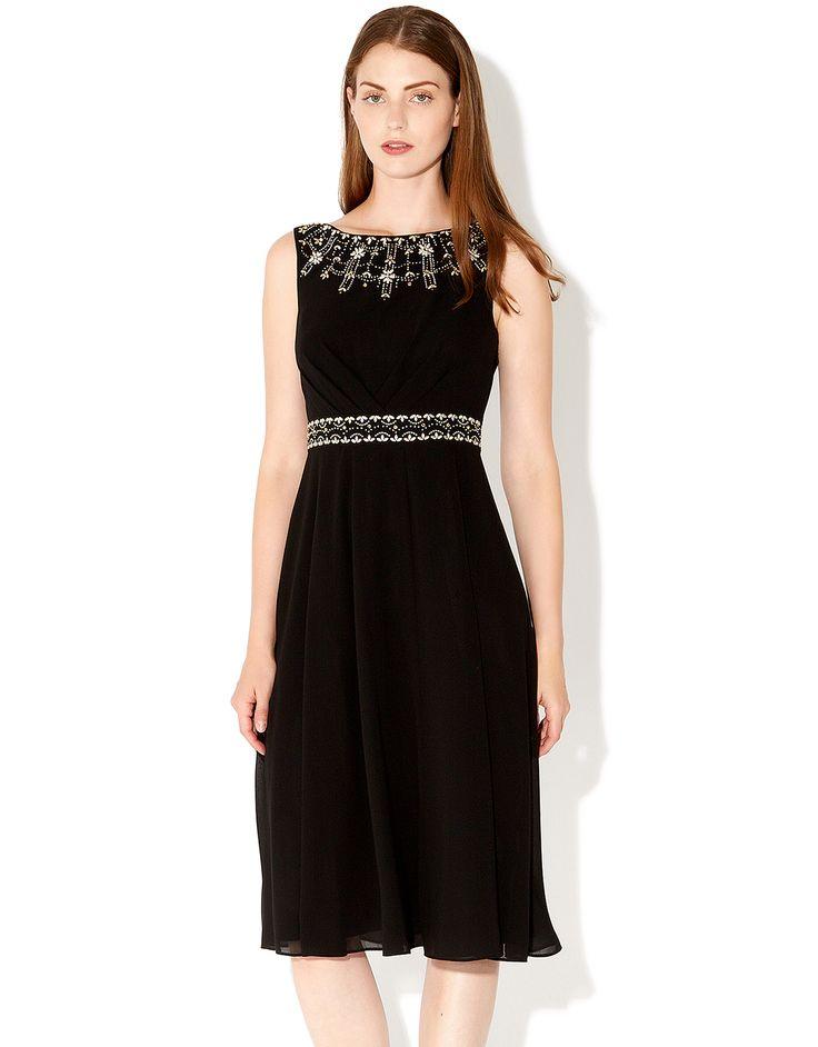 Amaris Dress | Black | Monsoon