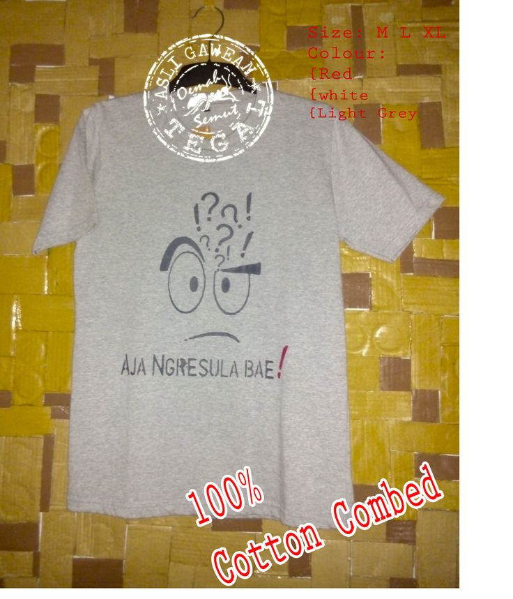 "Name: AJA NGRESULA BAE Product: ""OemahSemut"" *100% Cotton Combed *Pasta Rubber $ 10.00 Lokasi Outlet/adress: Jl. Arjuna No. 20 Slerok, Tegal-Central Java Indonesia Call: +6285640002702 SMS: +6285870465566 Pin BB: 210F3F2C email: oemahsemut@yahoo.com"