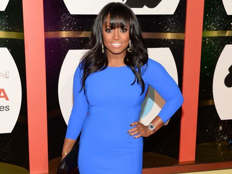 Keshia Knight Pulliam celebrated the New Year by getting married!
