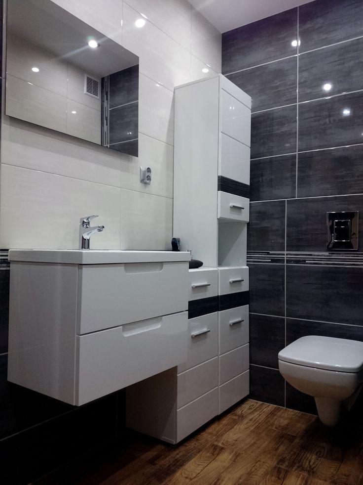 Pojemne meble łazienkowe to ogromne ułatwienie w utrzymaniu porządku i czystości w łazience. W pełni lakierowana szafka umywalkowa Rise wyróżnia się nowoczesnym designem na tle bardziej klasycznych modeli.