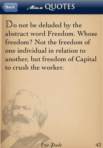 karl marx quotes.
