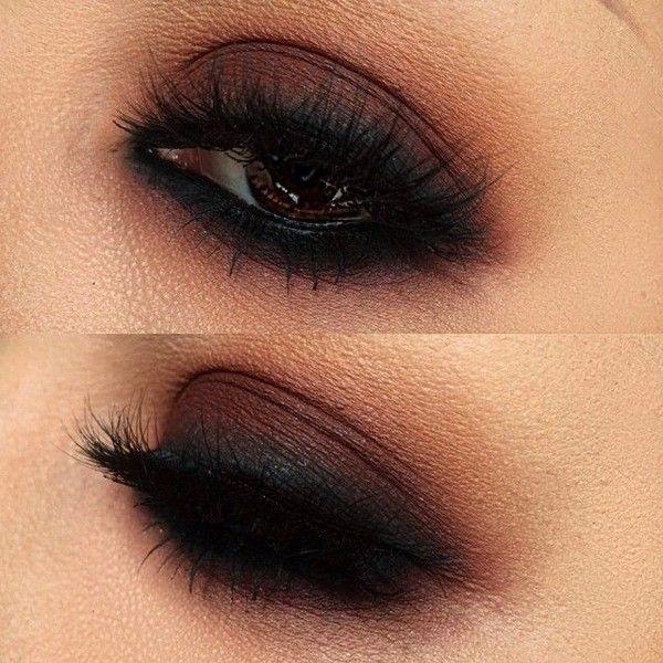 Lora Arellano @lora_arellano Smoky goodness us...Instagram photo |... ❤ liked on Polyvore featuring makeup